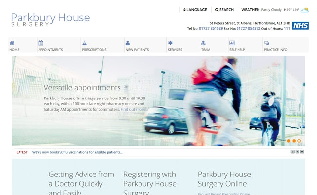 parkbury screenshot